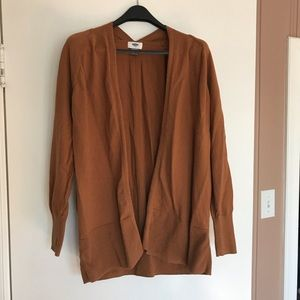 Brown Old Navy Open Front Cardigan